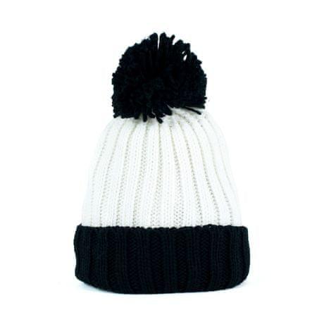Art of Polo Dvoubarevná zimní čepice černá+bílá.