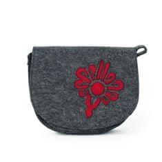 Art of Polo Malá kabelka z pařeného filcu červená.