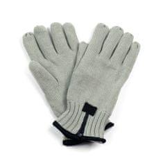 Art of Polo Pánské rukavice se zipem šedé