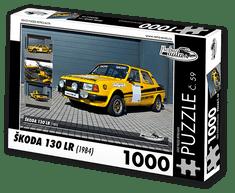 RETRO-AUTA© Puzzle č. 59 - ŠKODA 130 LR (1984) 1000 dílků