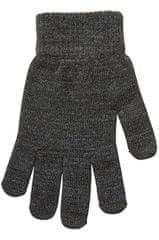 Vero Moda Dámske rukavice VMVILDE SMARTPHONE FINGERGLOVES Dark Grey Melange