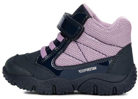 Geox dívčí kotníčková obuv B BALTIC GIRL WPF 23 fialová