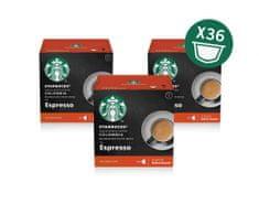 Starbucks by Nescafé Dolce Gusto Medium Espresso Colombia, 3 balení