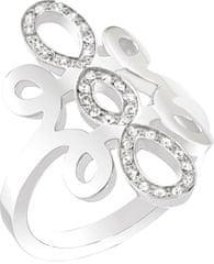 Morellato Oceľový prsteň Arabesco SAAJ24