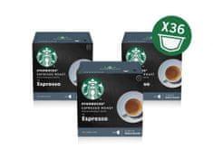 Starbucks by Nescafé Dolce Gusto Espresso Roast, 3 balení