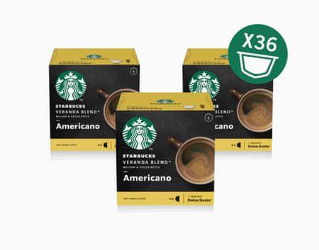 Starbucks by Nescafé Dolce Gusto Veranda Blend, 3 balení