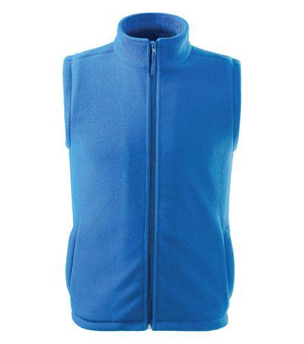 ADLER Czech Unisex fleece vesta Malfini NEXT 518 světle modrá XS