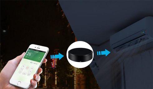 Univerzální infračervený ovladač IQ-Tech SmartLife IR01, aplikace, kamera, bezpečnostní