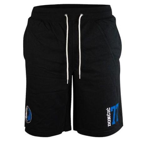 Dallas Mavericks kratke hlače Hops Jogger Luka Dončič 77, črne, S