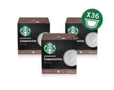 Starbucks kapsule Cappucino, 12 kapsul 120 g, 3 pakiranja