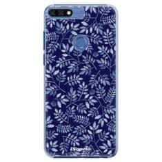 iSaprio Plastový kryt s motivem Blue Leaves 05