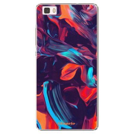 iSaprio Plastový kryt - Color Marble 19 pro Huawei P8 Lite