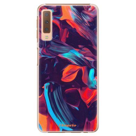 iSaprio Plastový kryt - Color Marble 19 pro Samsung Galaxy A7 (2018)