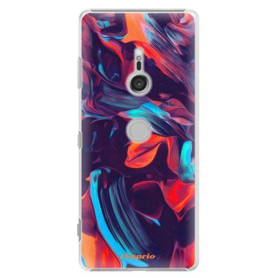 iSaprio Plastový kryt - Color Marble 19 pro Sony Xperia XZ3