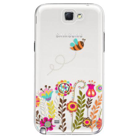 iSaprio Plastový kryt - Bee 01 pro Samsung Galaxy Note II N7100