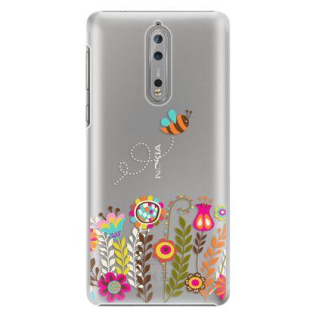 iSaprio Plastový kryt - Bee 01 pro Nokia 8