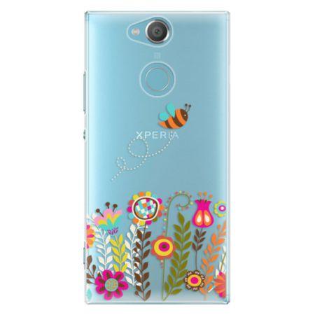 iSaprio Plastový kryt - Bee 01 pro Sony Xperia XA2