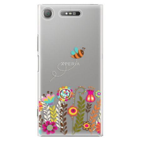 iSaprio Plastový kryt - Bee 01 pro Sony Xperia XZ1