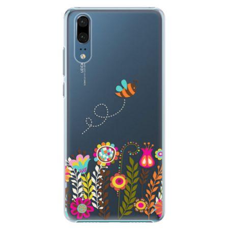 iSaprio Plastový kryt - Bee 01 pro Huawei P20
