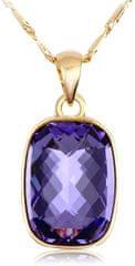 Vicca Náhrdelník Nuages Dark Violet OI_105045__purple