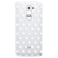 iSaprio Plastový kryt s motivem Stars Pattern - white
