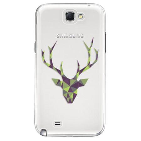 iSaprio Plastový kryt - Deer Green pro Samsung Galaxy Note II N7100