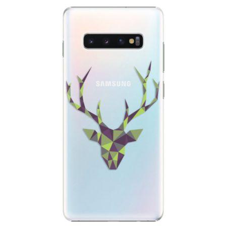 iSaprio Plastový kryt - Deer Green pro SAMSUNG GALAXY S10 PLUS