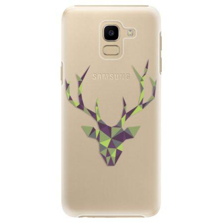 iSaprio Plastový kryt - Deer Green pro Samsung Galaxy J6