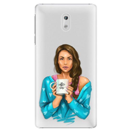 iSaprio Plastový kryt - Coffe Now - Brunette pro Nokia 3