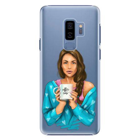 iSaprio Plastový kryt - Coffe Now - Brunette pro Samsung Galaxy S9 Plus