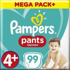 Pampers plenice Pants Maxi+ vel. 4+ (99 kosov) - plenice (9-15 kg) - Mesečni paket