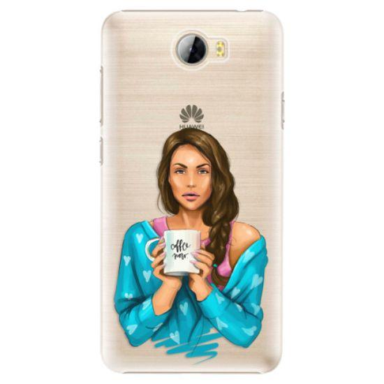 iSaprio Plastový kryt - Coffe Now - Brunette pro Huawei Y5 II