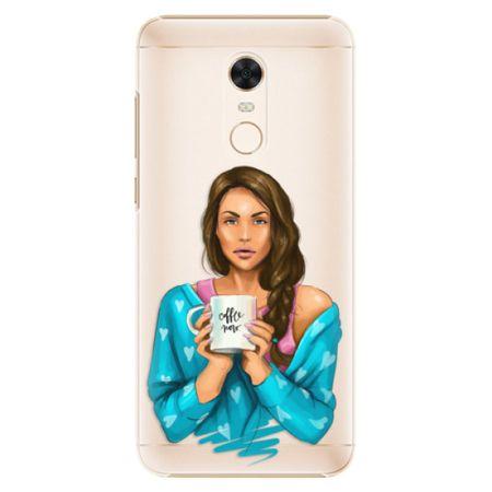 iSaprio Plastový kryt - Coffe Now - Brunette pro Xiaomi Redmi 5 Plus
