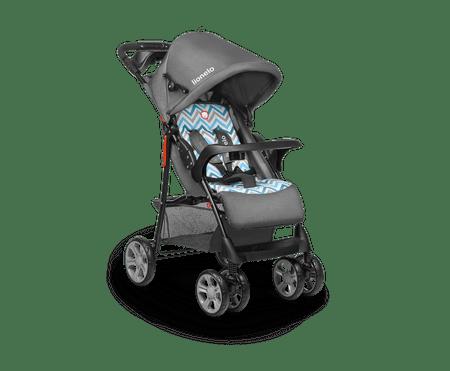 Lionelo wózek sportowy EMMA PLUS Blue Scandi