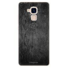 iSaprio Silikonové pouzdro s motivem Black Wood 13