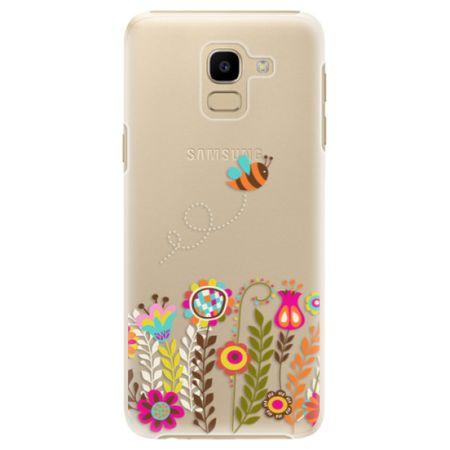iSaprio Plastový kryt - Bee 01 pro Samsung Galaxy J6