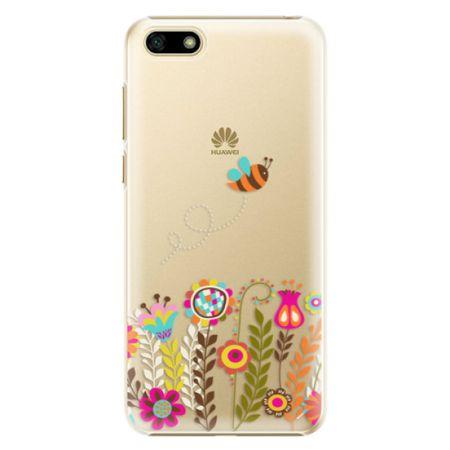 iSaprio Plastový kryt - Bee 01 pro Huawei Y5 2018