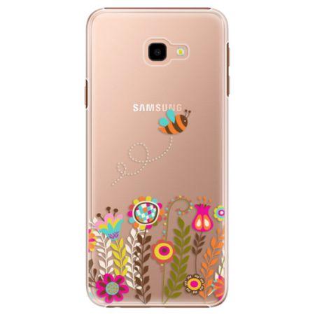 iSaprio Plastový kryt - Bee 01 pro Samsung Galaxy J4+
