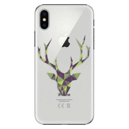 iSaprio Plastový kryt - Deer Green pro Apple iPhone X