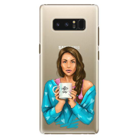 iSaprio Plastový kryt - Coffe Now - Brunette pro Samsung Galaxy Note8