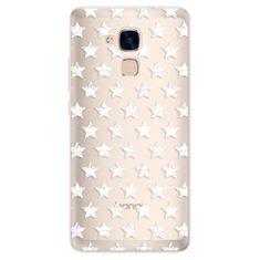 iSaprio Silikonové pouzdro s motivem Stars Pattern - white