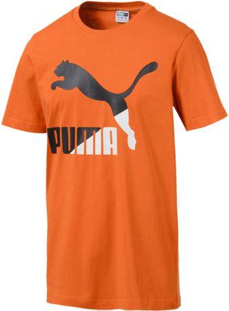 Puma Classics Logo Tee Jaffa Orange L