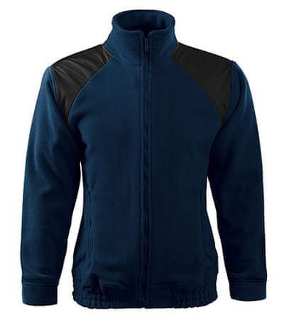 ADLER Czech Unisex fleece bunda Malfini JACKET HI-Q 506 tmavě modrá XXL