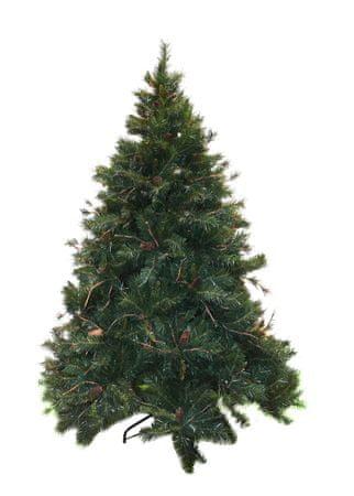 DUE ESSE Vianočná borovica Amazzonia 150 cm, šišky