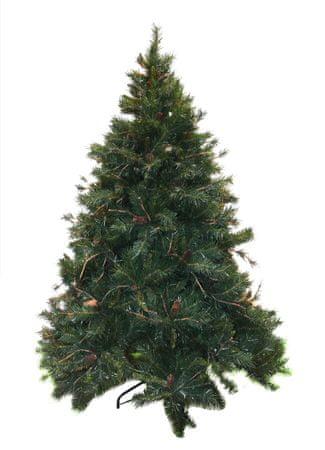 DUE ESSE choinka świąteczna -sosna Amazzonia 210 cm, szyszki