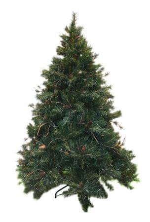 DUE ESSE Vánoční borovice Amazzonia 180 cm, šišky