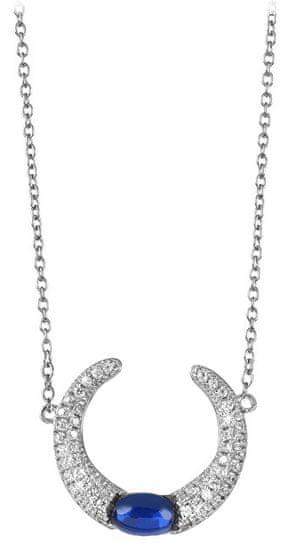 Silver Cat Úchvatný strieborný náhrdelník so zirkónmi SC307 striebro 925/1000