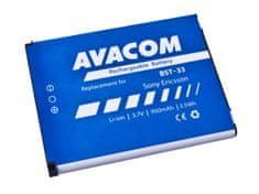 Avacom Baterie do mobilu Sony Ericsson K550i, K800, W900i Li-Ion 3,7V 950mAh (náhrada BST-33)