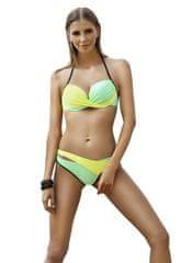 Ewlon Dámské plavky Luna green + dárek zdarma