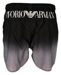 Emporio Armani Pánské šortky 211740 9P435 černo-šedá - Emporio Armani